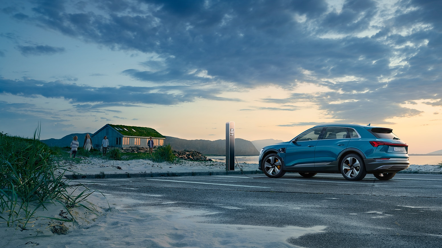 Although Most Normal Driving Distances Will Never Fully Deplete Your E Tron Battery Level 1 Charging May Require Vehicle To Charge For More Than A Day